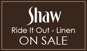 Shaw Carpet Ride It Out - Linen & Steel Beam 89¢ sq.ft.