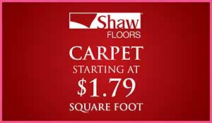 Love your Floors! Carpet Sale