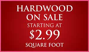 Love your Floors! Hardwood Sale