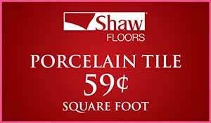 Love your Floors! Tile sale