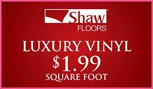 Love your Floors! Vinyl sale
